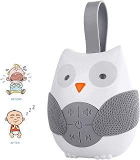 Sound Noise Machine Owl Baby Sound Machine Portable Baby Sleep Soother for Baby Sleeping