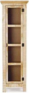 Best solid wood narrow cabinet Reviews