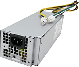 Li-SUN L240ES-00 H240ES-02 HU240AS-02 240W Power Supply Replacement for Dell OptiPlex 3046 3050 5050 7050 Mini Tower J61WF DK87P F484X DW3M7 HT04K (6Pin + 4Pin Connector)