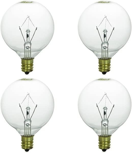 4 个装 25 个 WLITE 25 瓦替换灯泡正品 Scentsy 全尺寸加热器