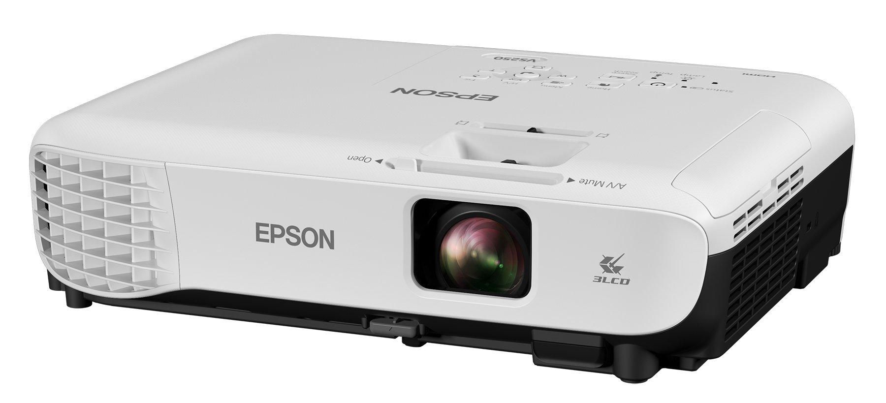 Epson VS250 lumens brightness projector