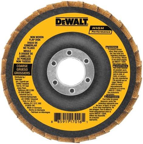 DEWALT DAAH7GVF05 4-1 Ranking TOP13 2-Inch by 5 Flap 8-Inch Fine Sale SALE% OFF Woven Non -11