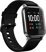 """HAYLOU LS02 SmartWatch(1.4"""", 260mAh, Bluetooth 5.0, IP68)-Fitness Tracker with Haylou App(Heart..."""