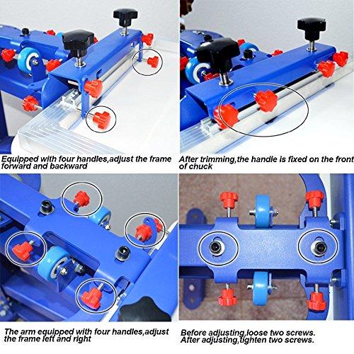 6 Colors Screen Small Simple Printing Kit