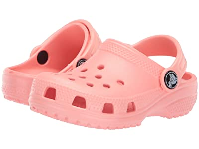 Crocs Kids Classic Clog (Toddler/Little Kid) (Melon) Kids Shoes