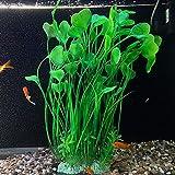 RIFNY - Pianta artificiale in plastica per acquario, altezza 45,75 cm, utilizzata per acquari e acquari