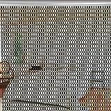 Cortinas de Cadena, Cortina de Metal, Cortinas de Aluminio particularmente funcionales múltiples, cocinas duraderas para Tiendas de artículos para el hogar