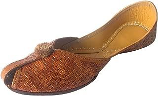 Step n Style Women Flat Slippers Sandals Kolhapuri Chappal Khussa Shoes Indian JUTIS