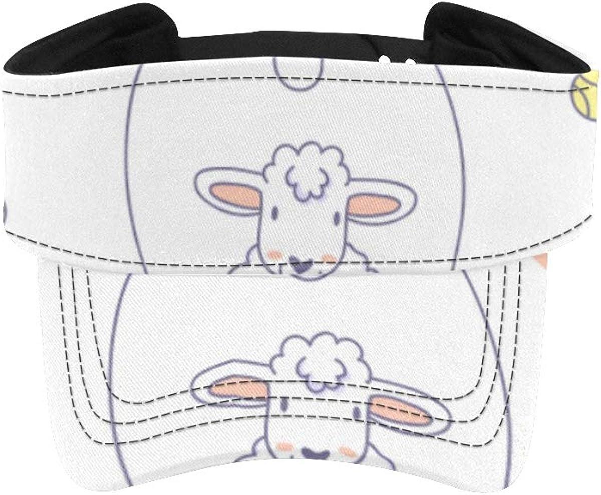 Women's Visor Cap Branded goods Sports Animation Sheep Hat Women Limited price sale Running S Sun