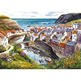 Gibsons puzzle - Staithes 1000 pieces by Gibsons Games