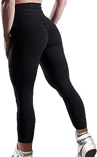 ruched bottom leggings