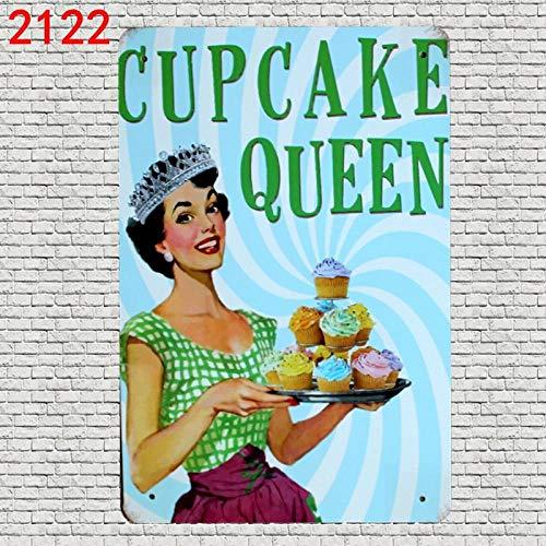 LHCY IJzeren Schilderij Brood Cake Burger Hot Hond Badkuip Retro Tin Zingt Blik Plaques Metalen Schilderij Muursticker
