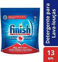 Tabletes Detergentes Para Lava Louças All in One Max Powerball, Contém 13 Tabletes, Finish