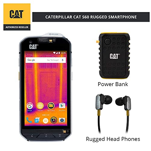 CAT S60 Single SIM Rugged Waterproof Unlocked Smartphone - North American  Variant Bundle with 10000mAh Power 5a8e9d0ad1