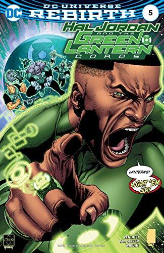 Hal Jordan and the Green Lantern Corps (2016-2018) #5