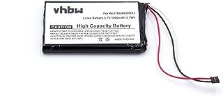 vhbw Li-Ion batería 1000mAh (3.7V) para Sistema de navegación GPS Garmin Nuvi 2589LMT, Nuvi 2589LMT 5-Inch por AI32AI32FA14Y.