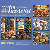 Best Jigsaw Puzzles For Adults - Bits and Pieces-1000 Piece Jigsaw Puzzle for Adults Review
