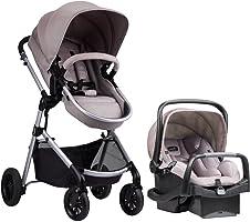Evenflo Pivot Modular Travel System, Lightweight Baby Stroller, Sleek & Versatile, Easy Infant Car Seat Transfer,...