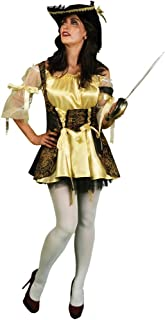 Morphsuits Women's Morphcostume Co Captain Nauti Lass Pirate Female Costume