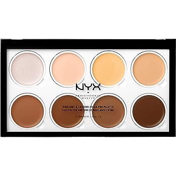 NYX PROFESSIONAL MAKEUP Highlight & Contour Cream Pro Palette