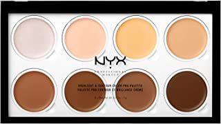 nyx contour highlight palette