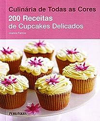 Livro 200 receitas de Cupcakes Delicados