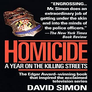 Homicide cover art