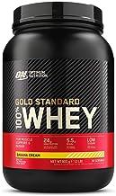 Optimum Nutrition 100% Whey Gold Standard,Banana Cream,2lb (0.9 kg)