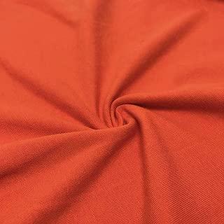 Best pumpkin knit fabric Reviews