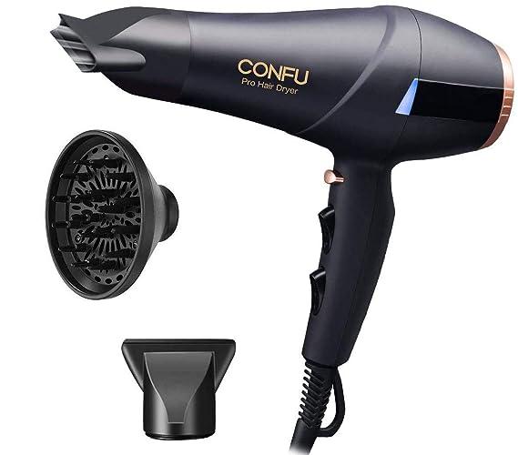 Professional Ionic Hair Dryer CONFU 1875W AC Motor Blow Dryer