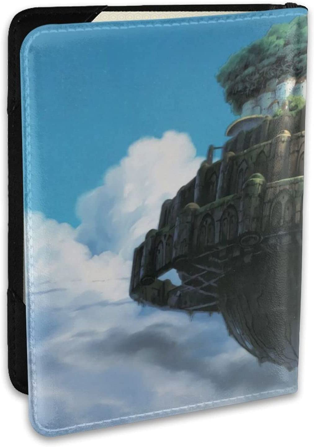 Anime Bargain sale Castle in the Sky leather wallet Max 40% OFF ca Hayao credit Miyazaki