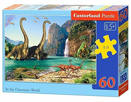 In the Dinosaurus World 60 pcs Puzzle   Rompecabezas (Puzzle rompecabezas, Fauna, Niños, Dinosaurio, Niño/niña, 5 año(s)) , color/modelo surtido