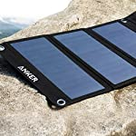 Solar Panel, Anker 21W 2-Port USB Portable Solar Charger with Foldable Panel, PowerPort Solar for iPhone 11/Xs/XS Max/XR… 14 The Anker Advantage: Join the 50 million+ powered by our leading technology Fast Charging Technology: PowerIQ delivers the charging speed up to 2.4 amps per port or 3 amps overall under direct sunlight. 21 watt SunPower solar array is 21.5-23.5% efficient, providing enough power to charge two devices simultaneously Incredibly Durable: Industrial-strength PET polymer faced solar panels sewn into a rugged polyester canvas offer weather-resistant outdoor durability