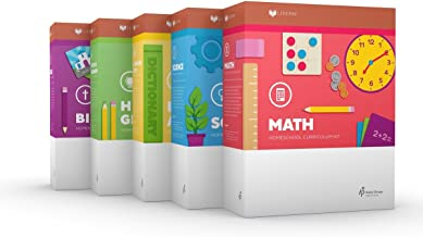 LIFEPAC 1st Grade 5-Subject Complete Boxed Set