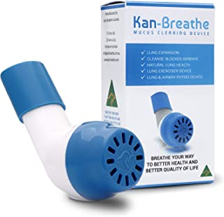 Natural Lung Exerciser & Mucus Removal Device - Naturally Clear Mucus from Airways & Improve Lung Capacity with This OPEP ...