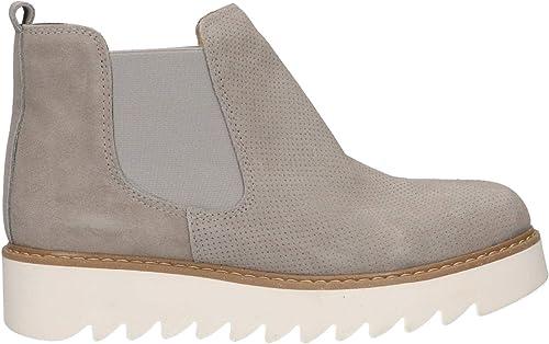 Unbekannt Stiefel für Damen URBAN 66099 Serraje grau