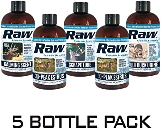RAW Frozen Scents Scrape Lure Deer Attractant Urine Pure Whitetail Active Scrape Lure Buck Hunting Spray Scent