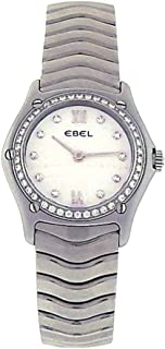 EbelクラシックWave analog-quartz Womens Watch e9090 F24 (認定pre-owned)