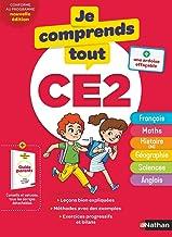 Je comprends tout CE2 - Tout en un (cours + exercices) pour réviser tout le programme du CE2 dans toutes les matières