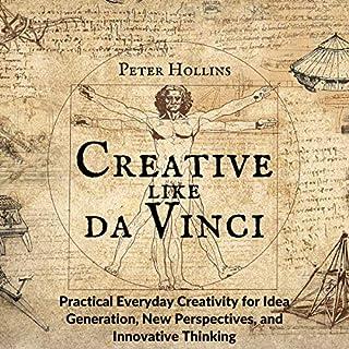 Creative Like da Vinci audiobook cover art