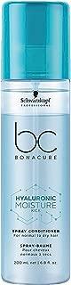 Schwarzkopf Professional Bc Hyaluronic Moisture Kick Spray Conditioner, Blue, 200 ml