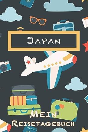 Japan Mein Reisetagebuch: 6x9 Kinder Reise Journal I Notizbuch zum Ausfüllen und Malen I Perfektes Geschenk für Kinder für den Trip nach Japan