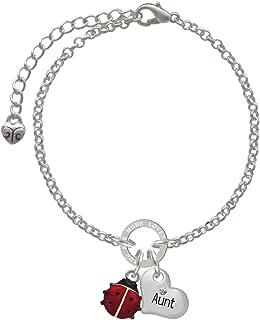 ladybug friendship bracelet pattern