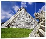 pixxp Blueprint hbvs 2354_ 80x 60un Maravilloso Maya Templo...