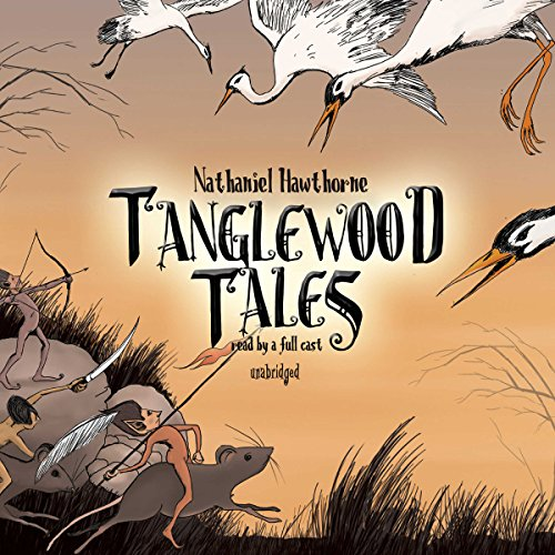 Tanglewood Tales audiobook cover art
