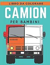 libro da colorare camion per bambini: libri da colorare di monster truck per bambini di 4-8 anni, buoni regali per bambini...