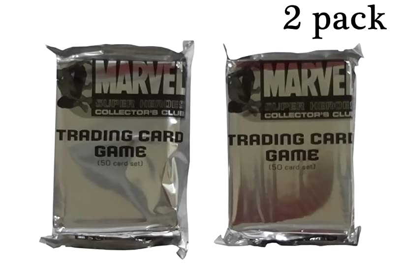 Marvel Super Heroes Collector's Club Trading Card Game Blind 2 Pack