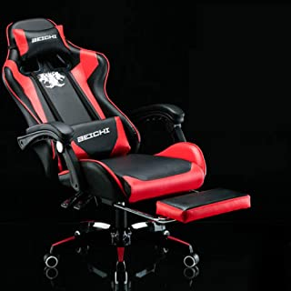 dtyjhu Racing synthetische lederen gaming stoel Internet cafe WCG computer stoel comfortabele liggend thuis stoel