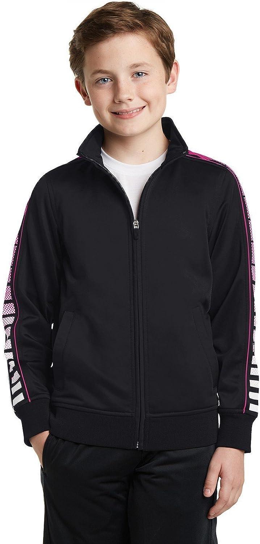 Sport-Tek boys Dot Sublimation Tricot Track Jacket (YST93)