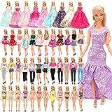 Miunana 16 Set Kleidung = 10 Set Casual Kleider Kleidung +3 Abendkleider + 3 Badenanzug für 11,5 Zoll Mädchen Puppen